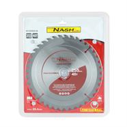 NASH ใบเลื่อยวงเดือน 10 นิ้วx40ฟัน สีเทา รุ่น N12050218