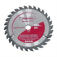 NASH ใบเลื่อยวงเดือน 7 นิ้ว x 30 ฟัน สีเทา รุ่น N12050202