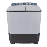 LG เครื่องซักผ้า 2 ถัง 9.5 กก รุ่น WP1350ROT สีขาว