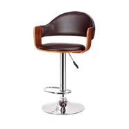 HOFF เก้าอี้บาร์หนัง รุ่น SDM-2219 สีดำ
