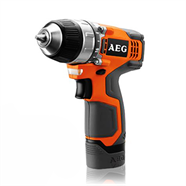 AEG สว่านไร้สายพร้อมไฟฉาย 12 โวลต์ สีส้ม รุ่น BS12-C2KIT