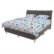เตียงนอนหนัง ALLSESON รุ่น Barents 6 ฟุต สีน้ำตาล