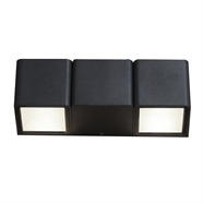 โคมไฟกิ่งนอกมิเนียม สีดำ HOFF รุ่น LED-HYBD101A