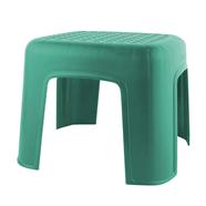 เก้าอี้พลาสติกแม่บ้าน สีเขียวเข้ม ลีลาวดี รุ่น J226