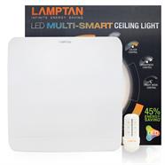 LAMPTAN โคมไฟติดเพดาน หน้าเหลี่ยม LED 24W รุ่น MULTI-SMART