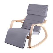 เก้าอี้พักผ่อนผ้าโมเดิร์น OEM รุ่น CM2213T สีเทา