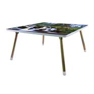 โต๊ะญี่ปุ่นเหลี่ยม ขาเหล็ก OEM 24x24 นิ้ว