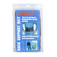 เข็มขัดพยุงหลัง NASH สีดำ