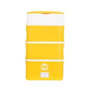 HOUSE WORTH ปิ่นโตไฟฟ้าอเนกประสงค์ 2.2 ลิตร รุ่น HW-ST01M สีเหลือง