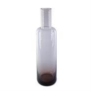 แจกันแก้ว 12 นิ้ว สีม่วง OEM รุ่น 990125/L