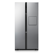 PANASONIC ตู้เย็น 2 ประตู 20.3 คิว รุ่น NR-BS63X-N สีเทา