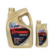 PTT น้ำมันเครื่อง รุ่น Dynamic Synthetic 10W30 6L ฟรี1L