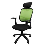 MASS เก้าอี้สำนักงานผ้า รุ่น BN02/H สีดำเขียว