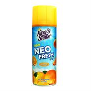 KING STELLA สเปรย์ปรับอากาศ ซุปเปอร์นีโอ ลายกลิ่นส้ม300 ml.