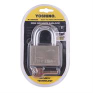 กุญแจคอสั้นชุบนิกเกิ้ล 60 มม. YOSHINO รุ่น YN 60