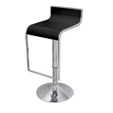 FINEXT เก้าอี้บาร์ไฟเบอร์ รุ่น 9013-2 สีดำ