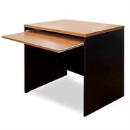 MASS โต๊ะคอมพิวเตอร์ไม้ 80 ซม. รุ่น WCTC-80 (F) สีเชอร์รี่ดำ