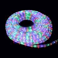 ไฟในท่อพลาสติกแบน LED 10 เมตร คละสี