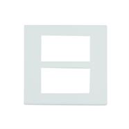 PANASONIC ฝาเมจิก 6 ช่อง สีขาว รุ่น WEG6806W