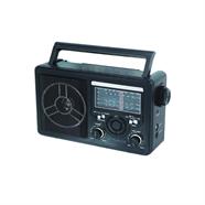 MONO วิทยุทรานซิสเตอร์ใช้ถ่าน รุ่น RCH-1102 สีดำ