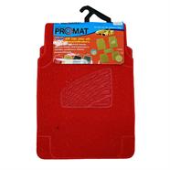 PROMAT พรมปูพื้นใยยาง PVC รุ่น 260PM101 สีแดง