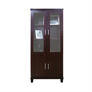 ตู้โชว์ไม้กระจกอเนกประสงค์ FINEXT รุ่น BS7094 80 ซม.