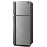 SHARP ตู้เย็น 2 ประตู 13.3 คิว รุ่น SJ-X43GP-SL สีเทา