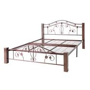 เตียงนอนนอนเหล็ก DECO รุ่น MARION 5 ฟุต สีคอปเปอร์