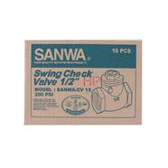 SANWA สวิงเช็ควาล์ว