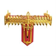 หิ้งพระเทพพนม 13 นิ้ว สีแดงทอง OEM รุ่น HPTEP0113P10G