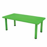 โต๊ะเด็กพลาสติก FINEXT รุ่น YCY-001 60x120 ซม. สีเขียว