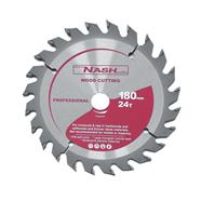 NASH ใบเลื่อยวงเดือน 7 นิ้ว x 24 ฟัน สีเทา รุ่น N12050201