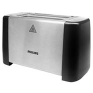 PHILIPS เครื่องปิ้งขนมปัง 800 วัตต์ รุ่น HD4825 สีเงิน