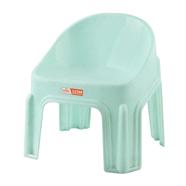เก้าอี้พลาสติกเด็ก สีเขียวหิน ลีลาวดี รุ่น J221