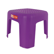 เก้าอี้พลาสติกแม่บ้าน สีม่วง ลีลาวดี รุ่น J226