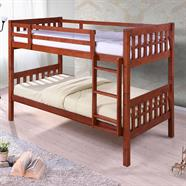 เตียงนอนไม้จริง HOFF รุ่น Mulberry 3.5 ฟุต 2 ชั้น