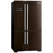 MITSUBISHI ตู้เย็น SIDE BY SIDE 22.4Q รุ่น MR-L70EJ-BRW สีน้ำตาล