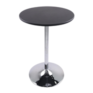 HOFF โต๊ะบาร์กลม รุ่น HJ-M5119A สีดำ