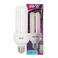 EVE หลอดประหยัดไฟ รุ่น STANDARD 2U  สีเดย์ไลท์ (DAY LIGHT)