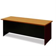 SMART FORM โต๊ะทำงาน 2.10 เมตร รุ่น T2160 สีเชอร์รี่ดำ