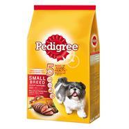 PEDIGREE อาหารสุนัขเล็ก รสเนื้อวัว แกะ ผัก