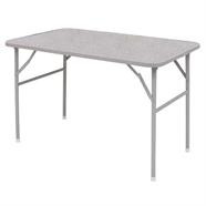 โต๊ะพับขาสวิง ไม้เหล็ก 4 ฟุต สีเทา