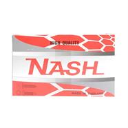 NASH ตะปูเกลียวแฉกแบน 1 กล่อง 1000 อัน สีเทา