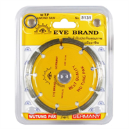 ใบตัดคอนกรีต 4 นิ้ว สีเหลือง ตราตา รุ่น 8131