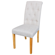 เก้าอี้ผ้าโมเดิร์น FINEXT รุ่น DO-6243-1 KD สีน้ำตาล
