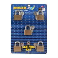 SOLEX กุญแจมาสเตอร์คีย์คอสั้น(5) 50 มม.
