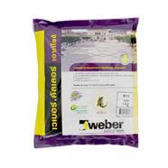 WEBER กาวยาแนวยืดหยุ่น เอาท์ไซด์ 1 กก. สีขาว