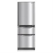 MITSUBISHI ตู้เย็น 3 ประตู 11.5Q รุ่น MR-CX38EK-ST สีสแตนเลส