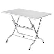 โต๊ะพับเหลี่ยม 60x100 ซม. รุ่น ST-102/1