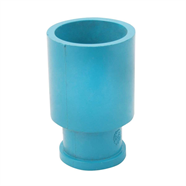 ข้อลดกลมเกลียวใน PVC 1 นิ้ว x 1/2 นิ้ว ตราสิงห์โต